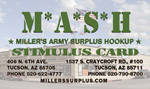 Miller's Surplus Card
