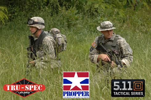 Tru-Spec, Propper & Woolrich Military Clothing